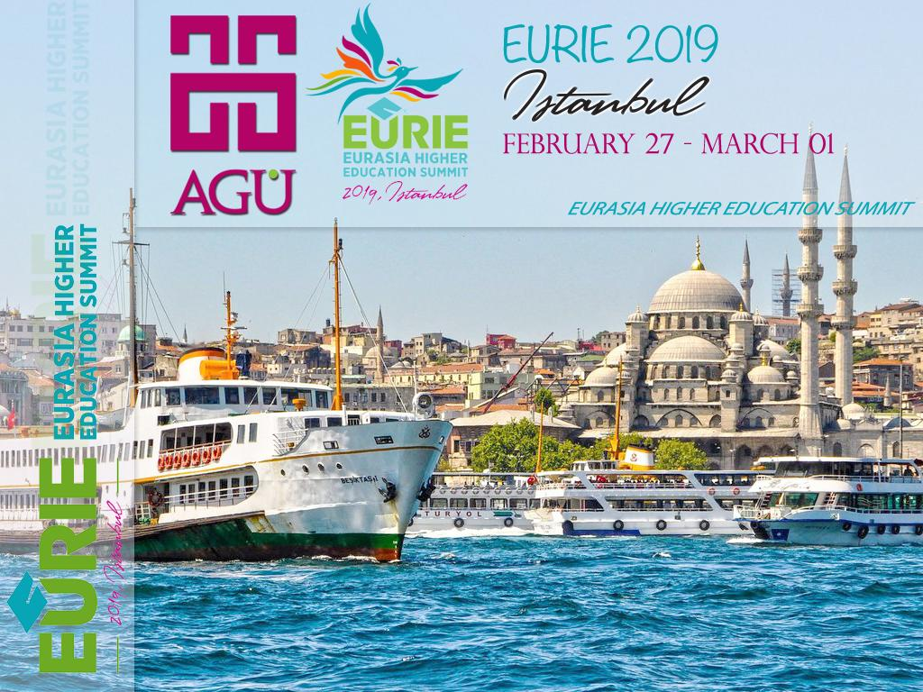 RT @AGU_IO: #AGU looking forward to participating this year again in the @EURIESUMMIT in @Istanbul! See you there! https://t.co/DOHOvHyZzR