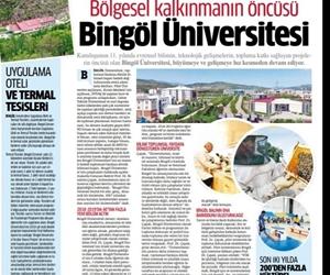 Bingöl Üniversitesi Bölgesel Kalkınmanın Öncüsü https://t.co/WbJNnChjje