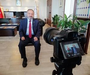 TRT AVAZ 'Vatanım Türkiye' programı yapım ekibi, Rektörümüz Prof. Dr. Mustafa Çufalı ile röportaj yaptı. https://t.co/EqIwng1oXi