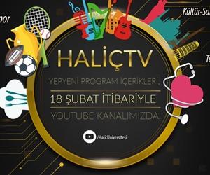 Haliç TV Yepyeni Program İçerikleri, 18 Şubat 2019 itibariyle YouTube Kanalımızda Yayında! #haliçtv https://t.co/UJ2J34NKy4