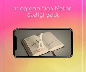 Hikayeye gelen Stop Motion özelliğiyle birlikte arka arkaya birçok fotoğraf çekip bunları otomatik olarak bir araya getirebilecek ve kendi 'GIF benzeri' yeni görsellerinizi oluşturabilme imkanına sahip olacaksınız. #smk #socialmedia #sosyalmedya #instagram #stopmotion #güncelleme #anadoluüniversitesi #instasnap