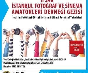 İletişim Fakültesi tarafından düzenlenen İFSAK Gezisi, yarın 13.00'te. #BeykentÜniversitesi #BEU #İletişimFakültesi #Görselİletişim #FotoğrafTeknikleri