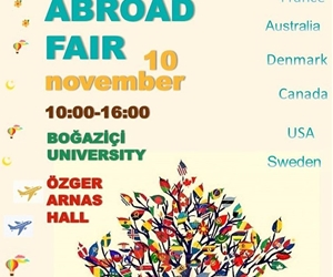 ESN Bogazici & International Student Office proudly presents; Study Abroad Fair/ Exchange your Experience! If are an outgoing student that will study abroad next semester and have lots of doubts and questions about how your life will be in Erasmus/Exchange; this is the perfect chance for you. If you are a foreign student who is willing to share his/her experiences, you're also more than welcome to join us on 10th of November at Özger Arnas Hall, South Campus between 10:00 - 16:00.  #ExchangeYourExperience #ESN #ThisIsESN
