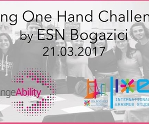 As ESN Bogazici, we have carried out our very first activity for the 20th-26th March ExchangeAbility Week: Using One Hand Challenge. There are millions of amputees worldwide and due to reasons like vascular diseases, traumas or war, many more people are being disabled each day and amputees who have lost some part, or the entirety of their arms make up about a third of the total number. Since arms are a vital part for executing everyday activities, the lives of these people can be extremely challenging. To better understand their struggle, we have tried to do simple activities that we...