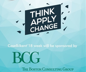 CaseBilkent'18 will be sponsored by @bcg ! Do not miss the chance of being a pioneer of change!