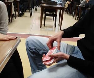 I hope I could change my grades just like I change cards?? kiun @samareenkapadia ? #magic #magician #bilkent #bilka #university #bilkentüniversitesi #life #cardmagic #reaction #fun #chilling #bicycle #52kards #ellusionist #illusion #sleightofhand
