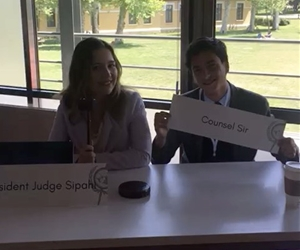 Last week our executive board member @nazsipahi  participated as President Judge and our beloved member @cankatsir  participated as Counselor in BilgiMUN !