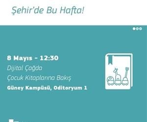 İstanbul Şehir Üniversitesi'nde bu hafta gerçekleşecek etkinlikler burada! #SehirdeBuHafta #sehir #university #events