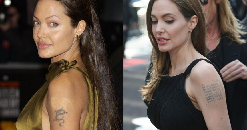 Picture of movie stars tattoos