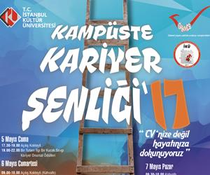 İstanbul Kültür Üniversitesi Kariyer Kulübü Kampüste Kariyer Şenliği
